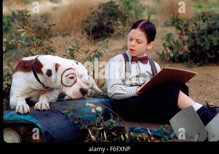 Aug 05, 1994; Hollywood, CA, USA; TRAVIS TEDFORD as George Mcfarland stars in a family comedy 'The Little Rascals' - Stock Photo
