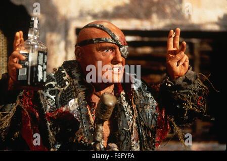 Jul 28, 1995; Los Angeles, CA, USA; Actor DENNIS HOPPER Deacon in the action/adventure film 'Waterworld' by director - Stock Photo