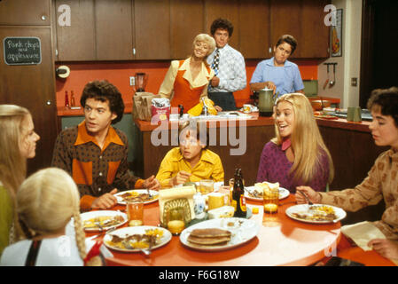 RELEASE DATE: 17 February 1995. MOVIE TITLE: The Brady Bunch Movie. STUDIO: Paramount Pictures. PLOT: The original - Stock Photo