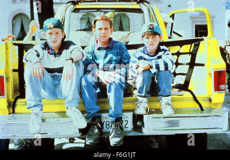 Mar 10, 1995; Los Angeles, CA, USA; CHAD POWER, MICHAEL TREANOR and MAX ELLIOT SLADE star in the TriStar Pictures - Stock Photo