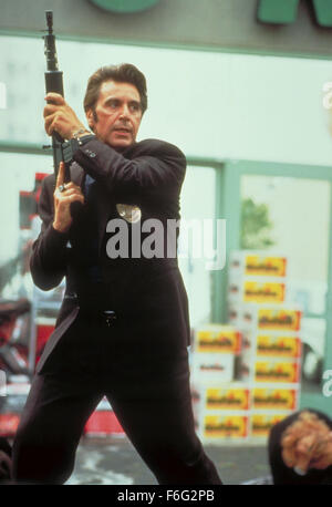 Dec 15, 1995; Los Angeles, CA, USA; Actor AL PACINO as Lt. Vincent Hanna in 'Heat'. Directed by Michael Mann. - Stock Photo
