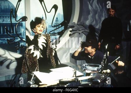 Jan 21, 1996; London, UK; Actress GLENN CLOSE as Cruella Del Vil in '101 Dalmatians'. Directed by Stephen Herek - Stock Photo