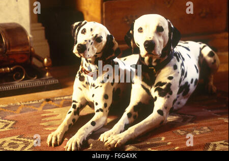 Jan 21, 1996; London, UK; A scene in '101 Dalmatians'. Directed by Stephen Herek - Stock Photo