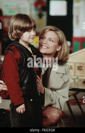 Dec 20, 1996; Los Angeles, CA, USA; Actress MICHELLE PFEIFFER stars as Melanie Parker and ALEX D. LINZ as Sammy - Stock Photo