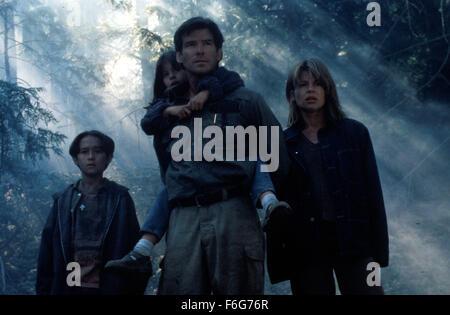 May 11, 1997; Los Angeles, CA, USA; Movie stills from 'Dante's Peak' featuring (LtoR) JEREMY FOLEY as Graham Wando, - Stock Photo