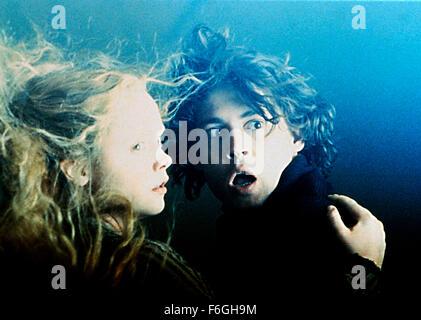 Nov 17, 1999; London, England, UK; CHRISTINA RICCI and JOHNNY DEPP star as Constable Ichabod Crane and Katrina Anne - Stock Photo