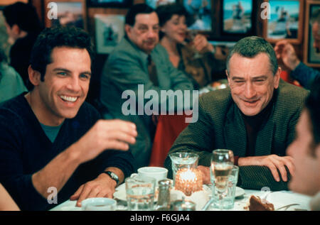 Mar 04, 2000; Hollywood, CA, USA; BEN STILLER and ROBERT DE NIRO star as Greg Focker and Jack Byrnes in the comedy - Stock Photo