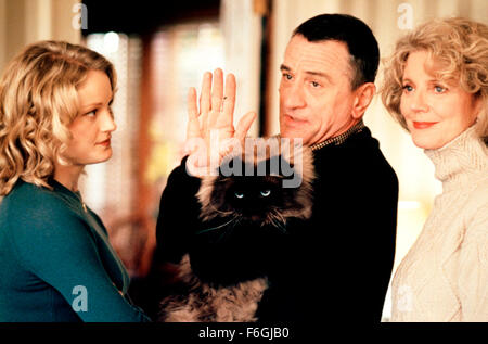 Mar 05, 2000; Hollywood, CA, USA; TERI POLO, ROBERT DE NIRO and BLYTHE DANNER and star as Pam Byrnes, Jack Byrnes - Stock Photo