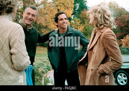 Mar 07, 2000; Hollywood, CA, USA; ROBERT DE NIRO, BEN STILLER and TERI POLO star as Jack Byrnes, Greg Focker and - Stock Photo