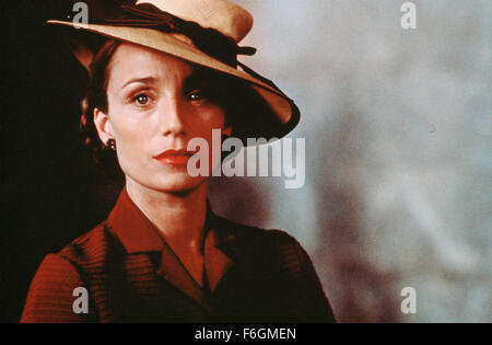 May 05, 2000; Hollywood, CA, USA; Kristin Scott Thomas in 2000 movie 'Up at the Villa' directed by Phillip Haas. - Stock Photo