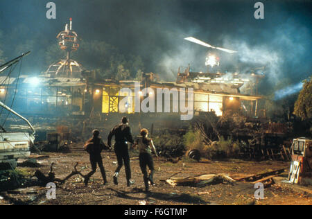 RELEASE DATE: July 16, 2001. MOVIE TITLE: Jurassic Park III. STUDIO: Universal Pictures. PLOT: Adventure runs wild - Stock Photo