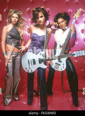 Apr 09, 2001; Hollywood, CA, USA; (from left to right)TARA REID as Melody Valentine, RACHAEL LEIGH COOK as Josie - Stock Photo