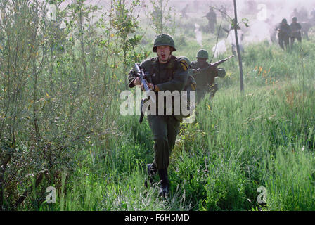 Mar 01, 2002; Los Angeles, CA, USA; Actor CHRIS KLEIN is 2nd Lt. Jack Geoghegan in 'We Were Soldiers', a film based - Stock Photo