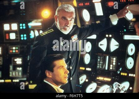 RELEASE DATE: March 2, 1990   MOVIE TITLE: The Hunt For Red October   STUDIO: Paramount Pictures   DIRECTOR: John - Stock Photo