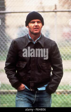 1975, Film Title: ONE FLEW OVER THE CUCKOO'S NEST, Pictured: CLOTHING, HAT, JEANS, KNIT, LEATHER JACKET. (Credit - Stock Photo