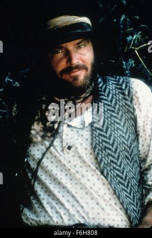 1976, Film Title: MISSOURI BREAKS, Pictured: BEARD, COWBOY, HAT, MOUSTACHE. (Credit Image: SNAP) - Stock Photo