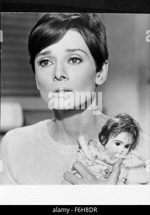 1967, Film Title: WAIT UNTIL DARK, Director: TERENCE YOUNG, Pictured: 1967, ACCESSORIES, DOLL, AUDREY HEPBURN. (Credit - Stock Photo