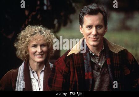 1989, Film Title: IMMEDIATE FAMILY, Studio: COLUMBIA, Pictured: GLENN CLOSE. (Credit Image: SNAP) - Stock Photo