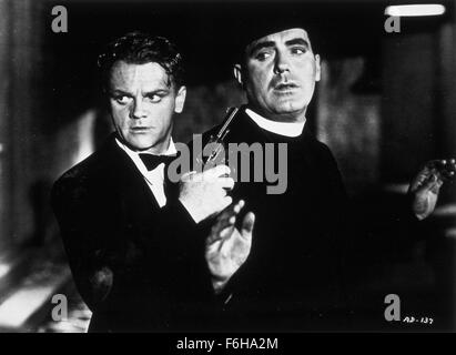 1938, Film Title: ANGELS WITH DIRTY FACES, Pictured: JAMES CAGNEY. (Credit Image: SNAP) - Stock Photo