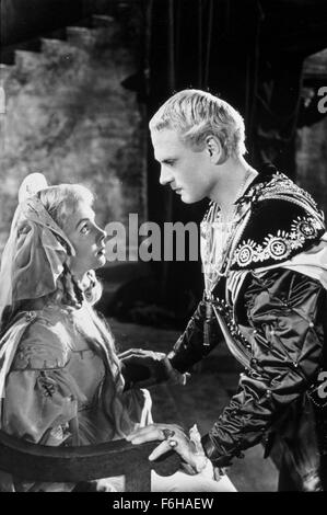 1948, Film Title: HAMLET, Director: LAURENCE OLIVIER, Pictured: 1948, AWARDS - ACADEMY, BEST PICTURE, LAURENCE OLIVIER, - Stock Photo