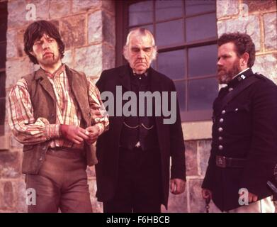 1970, Film Title: NED KELLY, Director: TONY RICHARDSON, Pictured: MICK JAGGER. (Credit Image: SNAP) - Stock Photo