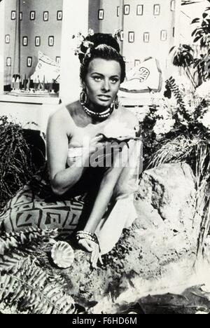 1953, Film Title: AIDA, Director: CLEMENTE FRACASSI, Studio: ITALY, Pictured: CLEMENTE FRACASSI. (Credit Image: - Stock Photo