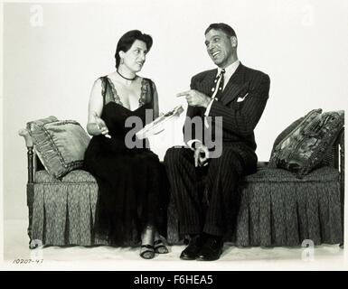 1955, Film Title: ROSE TATTOO, Director: DANIEL MANN, Studio: PARAMOUNT, Pictured: BURT LANCASTER, ANNA MAGNANI. - Stock Photo