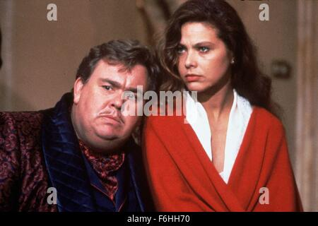 1992, Film Title: ONCE UPON A CRIME, Director: EUGENE LEVY, Studio: MGM, Pictured: JOHN CANDY, EUGENE LEVY. (Credit - Stock Photo