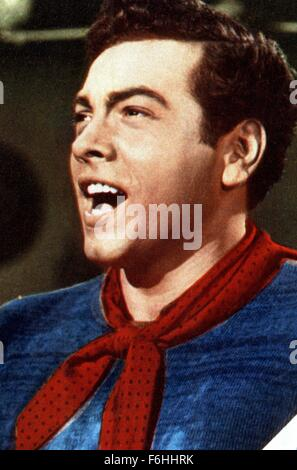 1951, Film Title: GREAT CARUSO, Director: RICHARD THORPE, Studio: MGM, Pictured: MARIO LANZA. (Credit Image: SNAP) - Stock Photo