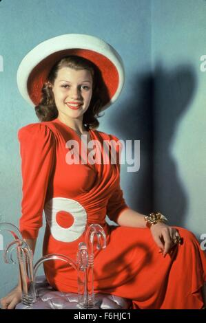 1941, Film Title: YOU'LL NEVER GET RICH, Director: SIDNEY LANFIELD, Studio: COLUMBIA, Pictured: RITA HAYWORTH. (Credit - Stock Photo