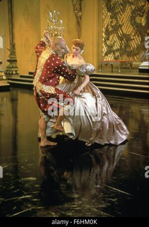1956, Film Title: KING AND I, Director: WALTER LANG, Studio: FOX, Pictured: 1956, AWARDS - ACADEMY, BEST ACTOR, - Stock Photo