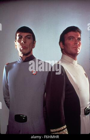 1986, Film Title: STAR TREK IV: THE VOYAGE HOME, Director: LEONARD NIMOY, Studio: PARAMOUNT, Pictured: LEONARD NIMOY. - Stock Photo