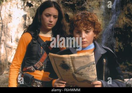 Jul 23, 2002; Hollywood, CA, USA; (L-R) ALEXA VEGA and DARYL SABARA star in 'Spy Kids 2: The Island of Lost Dreams.'. - Stock Photo