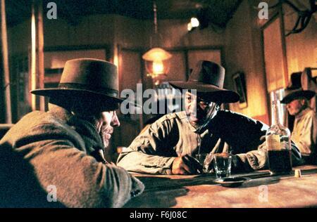 1992, Film Title: UNFORGIVEN, Director: CLINT EASTWOOD, Studio: WARNER, Pictured: CLINT EASTWOOD. (Credit Image: - Stock Photo