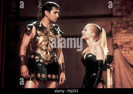 Aug 21, 2002; New York, NY, USA; JIMI MISTRY and HEATHER GRAHAM star as Ramu Gupta and Sharonna in the romantic - Stock Photo