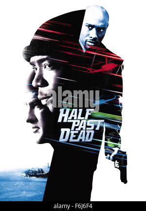RELEASE DATE: Nov. 15, 2002. MOVIE TITLE: Half Past Dead. STUDIO: Screen Gems. PLOT: This movie tells the story - Stock Photo