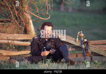 Feb 10, 2003; Hollywood, CA, USA; STEPHEN LANG as Lt. Gen. Thomas Jackson in the action, war, drama ''Gods and Generals'' - Stock Photo
