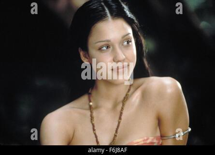 Mar 04, 2003; Hollywood, CA, USA; Actress JESSICA ALBA stars as Selima in the romantic drama 'The Sleeping Dictionary' - Stock Photo