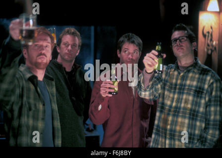 Mar 06, 2003; Hollywood, CA, USA; DAMIAN LEWIS as Gary 'Jonesy' Jones, THOMAS JANE as Dr. Henry Devlin, TIMOTHY - Stock Photo