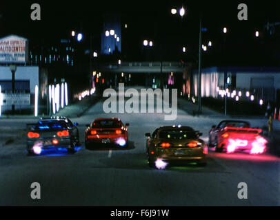 RELEASE DATE: June 3, 2003. MOVIE TITLE:  2 Fast 2 Furious. STUDIO: Universal Pictures. PLOT: Former cop Brian O'Conner - Stock Photo