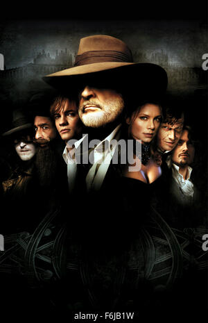 Jul 11, 2003; Hollywood, CA, USA; Poster for the action, sci-fi, fantasy ''The League of Extraordinary Gentlemen'' - Stock Photo