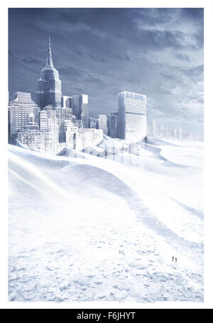 RELEASE DATE: May 28, 2004. MOVIE TITLE: The Day After Tomorrow. STUDIO: 20th Century Fox. PLOT: A climatologist - Stock Photo