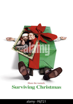 RELEASE DATE: October 22, 2004. MOVIE TITLE: Surviving Christmas. STUDIO: DreamWorks. PLOT: Drew Latham is an executive - Stock Photo