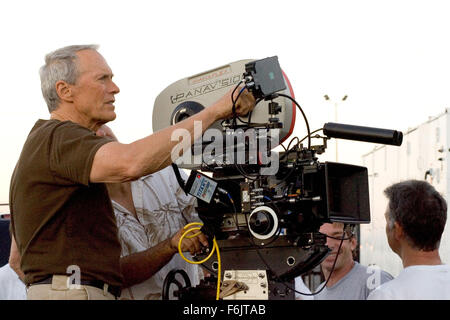 Dec 03, 2004; Los Angeles, CA, USA; CLINT EASTWOOD directs and stars in the romantic drama 'Million Dollar Baby.' - Stock Photo