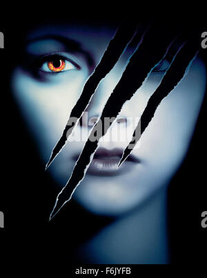 Feb 25, 2005; Hollywood, CA, USA; Key art for the Dimension Films horror thriller, 'Cursed.' Directed by Wes Craven. - Stock Photo