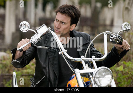RELEASE DATE: February 16, 2007. MOVIE TITLE: Ghost Rider. STUDIO: Columbia Pictures. PLOT: Based on the Marvel - Stock Photo