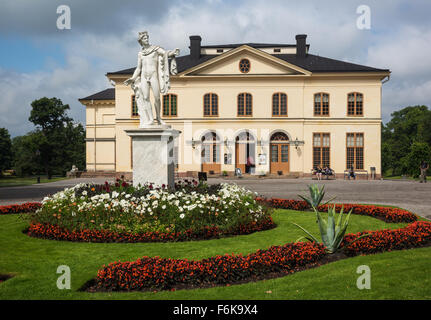 Palace Theatre, opera house, Drottningholm Palace, Stockholm, Sweden - Stock Photo