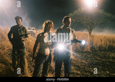 RELEASE DATE: January 12, 2007. MOVIE TITLE: Primeval - STUDIO: Hollywood Pictures. PLOT: A news team is sent to - Stock Photo