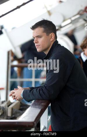 RELEASE DATE: August 3, 2007. MOVIE TITLE: The Bourne Ultimatum - STUDIO: Universal Pictures. PLOT: Bourne races - Stock Photo