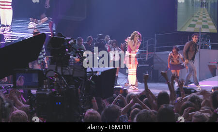 RELEASE DATE: February 01, 2008. MOVIE TITLE: Hannah Montana/Miley Cyrus: Best of Both Worlds Concert Tour. STUDIO: - Stock Photo